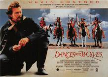 act500887 - Dances with Wolves Movie Poster Postcard