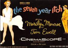 act510025 - Marilyn Monroe Movie Poster Postcard