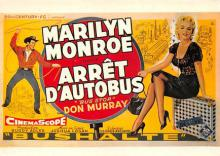 act510039 - Marilyn Monroe Movie Poster Postcard