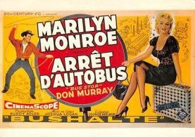 act510041 - Marilyn Monroe Movie Poster Postcard