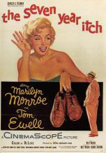 act510053 - Marilyn Monroe Movie Poster Postcard