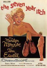 act510053 - Marilyn Monroe Movie Poster Postcard