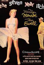 act510057 - Marilyn Monroe Movie Poster Postcard