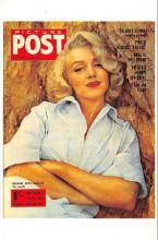 act510073 - Marilyn Monroe Movie Poster Postcard