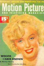 act510101 - Marilyn Monroe Movie Poster Postcard