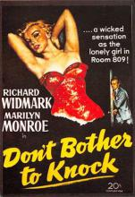 act510141 - Marilyn Monroe Movie Poster Postcard