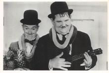 act520013 - Laurel and Hardy Movie Poster Postcard