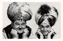 act520015 - Laurel and Hardy Movie Poster Postcard