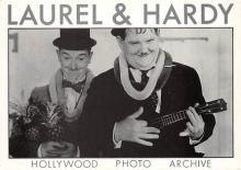 act520025 - Laurel and Hardy Movie Poster Postcard