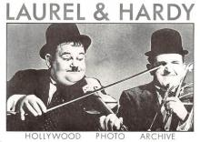 act520031 - Laurel and Hardy Movie Poster Postcard