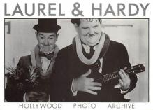 act520037 - Laurel and Hardy Movie Poster Postcard
