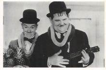 act520041 - Laurel and Hardy Movie Poster Postcard