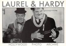act520045 - Laurel and Hardy Movie Poster Postcard