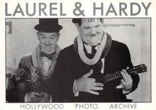 act520061 - Laurel and Hardy Movie Poster Postcard