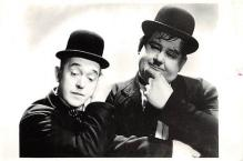 act520083 - Laurel and Hardy Movie Poster Postcard