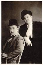 act520103 - Laurel and Hardy Movie Poster Postcard