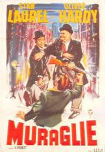 act520131 - Laurel and Hardy Movie Poster Postcard