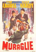 act520133 - Laurel and Hardy Movie Poster Postcard
