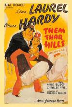 act520135 - Laurel and Hardy Movie Poster Postcard