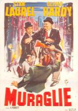 act520137 - Laurel and Hardy Movie Poster Postcard