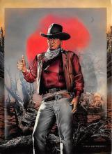 act530005 - John Wayne Movie Poster Postcard
