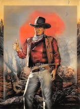 act530031 - John Wayne Movie Poster Postcard