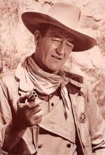 act530033 - John Wayne Movie Poster Postcard