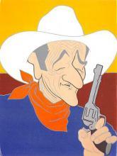 act530039 - John Wayne Movie Poster Postcard