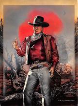 act530041 - John Wayne Movie Poster Postcard