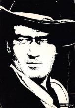 act530045 - John Wayne Movie Poster Postcard