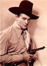 act530049 - John Wayne Movie Poster Postcard