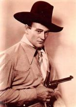 act530051 - John Wayne Movie Poster Postcard
