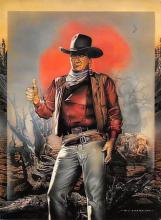 act530057 - John Wayne Movie Poster Postcard
