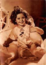 act550013 - Shirley Temple Movie Poster Postcard