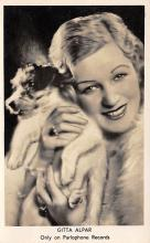 act_001019 - Gitta Alpar Actor / Actress Misc. Movie Star Hollywood Postcard