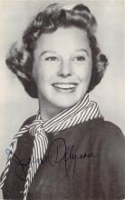 act_001026 - June Allyson Postcard Actress, Movie Star Post Card