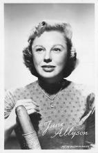 act_001028 - June Allyson Postcard Actress, Movie Star Post Card