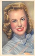 act_001030 - June Allyson Postcard Actress, Movie Star Post Card