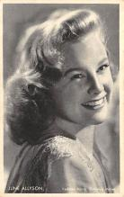 act_001041 - June Allyson Post Card Actress, Movie Star, Postcard