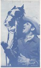 act_001046 - Gene Autrey Non Postcard, Actor, Movie Star, Postcard Post Card