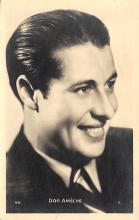 act_001049 - Don Ameche Actor, Actress, Movie Star, Postcard Post Card