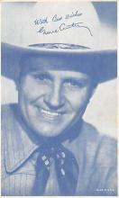 act_001058 - Gene Autry Movie Actor / Actress, Entertainment Postcard Post Card