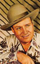 act_001067 - Gene Autry Movie Actor / Actress, Entertainment Postcard Post Card