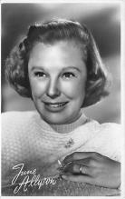 act_001074 - June Allyson Movie Actor / Actress, Entertainment Postcard Post Card