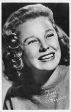 act_001088 - June Allyson Movie Actress, Entertainment Postcard Post Card