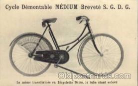 adv000028 - bicycles, cycling postcard Post Card