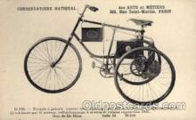 adv000033 - bicycles, Conservatoire National cycling postcard Post Card