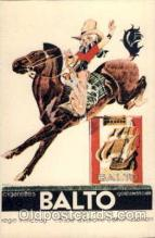 adv000041 - Cigarettes Balto, Cowgirl Postcard Post Card
