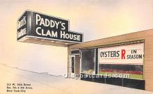 adv000048 - Padd's Clam House, Linen, Old Post Card