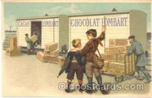 adv001194 - Chocolat Lombart, Advertising Postcard Post Card
